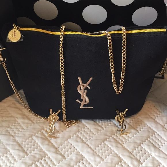 00afe2427b2 Yves Saint Laurent Bags | Ysl Beaute Cosmetic Bag | Poshmark